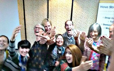 laughter yoga, Hove StressBusters